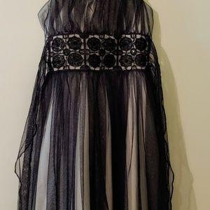 My Michelle Black Dress size 7